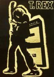 T. Rex poster: Electric Warrior (23 1/2'' X 33'') New