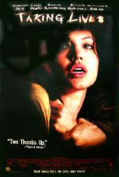 Taking Lives movie poster [Angelina Jolie] 27x40 video version
