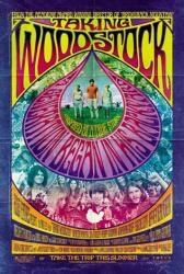 Taking Woodstock movie poster /Demetri Martin/Emile Hirsch/Eugene Levy