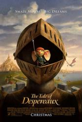 The Tale of Despereaux movie poster (2008)