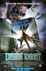 Tales From the Crypt: Demon Knight movie poster (27x40) video version