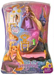 Tangled [Disney] Tower Treasures Rapunzel doll set (Mattel/2010)