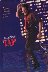 Tap movie poster (1989) [Gregory Hines] original 27z40