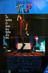 Tap movie poster (1989) [Gregory Hines] 27x40 video version
