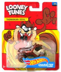 Hot Wheels Character Cars: Looney Tunes Tasmanian Devil die-cast