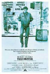 Taxi Driver movie poster [Robert DeNiro] Martin Scorsese (27'' X 40'')