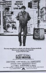 Taxi Driver movie poster [Robert DeNiro] (24'' X 36'') Martin Scorsese