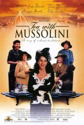 Tea With Mussolini movie poster [Cher, Judi Dench, Lily Tomlin] 27x40