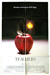 Teachers movie poster (1984) original 27 X 41 one-sheet