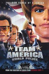 Team America: World Police movie poster (advance one-sheet)