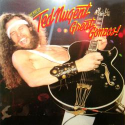 Ted Nugent poster: Great Gonzos vintage LP/Album flat (1981)