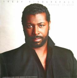 Teddy Pendergrass poster: Workin' It Back vintage LP/Album flat
