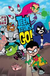 Teen Titans Go! poster (22x34) Cartoon Network animated TV series