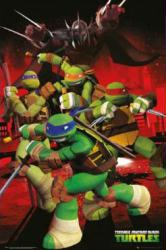 Teenage Mutant Ninja Turtles poster (24 X 36) Characters