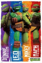 Teenage Mutant Ninja Turtles poster: Profiles (24 X 36) Nickelodeon