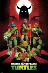 Teenage Mutant Ninja Turtles poster (24'' X 36'') Nickelodeon TV show