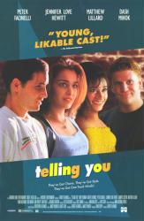 Telling You movie poster [Peter Facinelli, Jennifer Love Hewitt] 26x40