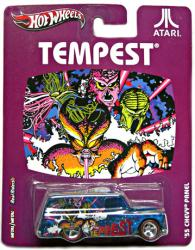 Hot Wheels Nostalgic Brands: Atari Tempest '55 Chevy Panel diecast