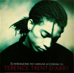 Terence Trent D'Arby poster: Introducing Hardline...LP/Album flat NM