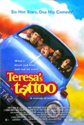 Teresa's Tattoo movie poster [C. Thomas Howell & Nancy McKeon]