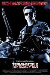 Terminator 2: Judgment Day movie poster [Arnold Schwarzenegger] 24x36