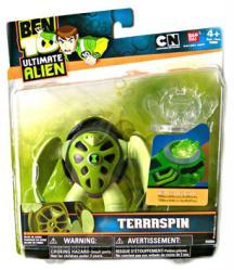 Ben 10 Ultimate Alien: Terraspin action figure (BanDai/2009)