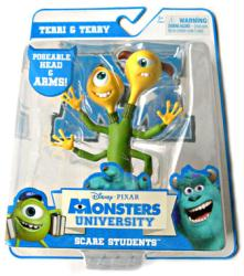 Monsters University Scare Students: Terri & Terry action figure