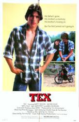 Tex movie poster [Matt Dillon & Meg Tilly] 1982 Walt Disney