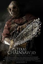 Texas Chainsaw 3D movie poster (original 27 X 40 one-sheet)