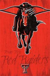 Texas Tech Red Raiders poster: Logo (NCAA) 22x34
