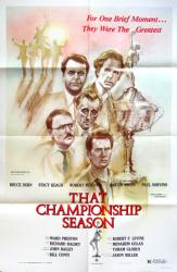 That Championship Season movie poster [Robert Mitchum] 27x41 original