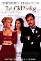 That Old Feeling movie poster [Bette Midler & Dennis Farina] 27 X 40