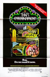 That's Entertainment! movie poster [Fred Astaire, Gene Kelly] 27x41