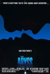 The Abyss movie poster [a James Cameron film] 27x40 original