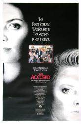 The Accused movie poster [Kelly McGillis, Jodie Foster] 27x41