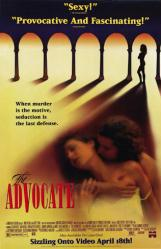 The Advocate movie poster [Colin Firth] 26x40 video version