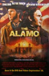 The Alamo movie poster (2004) [Dennis Quaid, Billy Bob Thornton] 26x40