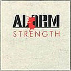 The Alarm poster: Strength vintage LP/Album flat