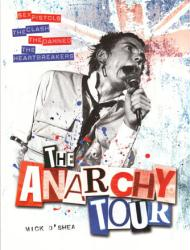 The Anarchy Tour softcover book by Miles O'Shea (2012) punk rock book