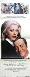The April Fools poster [Jack Lemmon, Catherine Deneuve] 14x36 insert