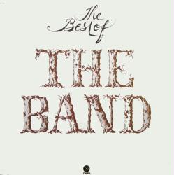 The Band poster: The Best of the Band vintage clothesline album flat