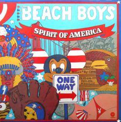 The Beach Boys poster: Spirit of America clothesline album flat (1976)