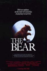 The Bear movie poster (1988) a Jean-Jacques Annaud film 27x40
