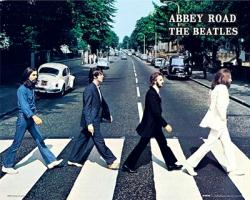 The Beatles poster: Abbey Road (20x16) album cover art