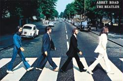 The Beatles poster: Abbey Road (34x22) New