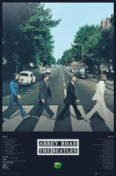 The Beatles poster: Abbey Road with Track Listing (24x36)