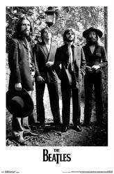 The Beatles poster: Lamp (22x34) George, Paul, Ringo & John