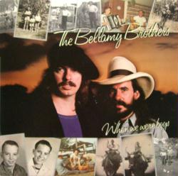 The Bellamy Brothers poster: When We Were Boys vintage LP/Album flat