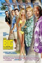 The Big Bounce movie poster [Owen Wilson & Morgan Freeman] 27 x 40