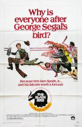 The Black Bird movie poster [George Segal] (1975) original 27x41